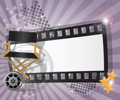 Movie background — Stock Vector