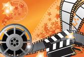 Filmový plakát — Stock vektor