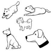 Psi — Stock vektor