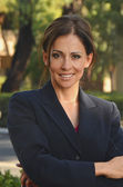 Hispanic Business Woman — Stockfoto