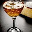 Sparkling White Wine — Stockfoto