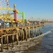 Santa Monica California Coast Line — Stock Photo