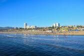 Santa Monica California Coast Line — Stock Photo