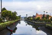 Canal de playa de venecia — Foto de Stock