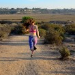 Woman Running — Stock Photo #40808747