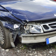 Stock Photo: Car accident, insurance concept