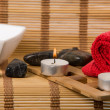 Spa setup concept — Stock Photo