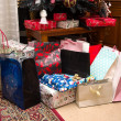 Presents under christmas tree — Stock Photo #18322161