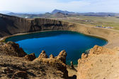 Viti crater in Krafla volcanic area, Iceland — Stock Photo