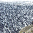 Stock Photo: Vatnajokull glacier and lonely mtaking photograph
