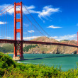 paysage de vives jour golden gate bridge, san francisco — Photo #13186067