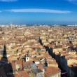 Bordeaux city panorama from St Michel tower — Stock Photo