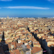 Stock Photo: Bordeaux city panoramfrom St Michel tower