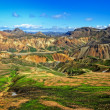 Landmannalaugar colorful mountains landscape, Iceland — Stock Photo #13351650