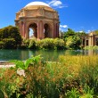 San Francisco park Palace of Fine Arts - Stock Photo