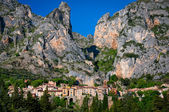 Moustiers Sainte Marie village in Provence — Stock Photo