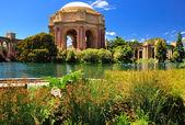 San Francisco park Palace of Fine Arts — Stock Photo