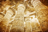 Great Hypostyle Hall at the Temples of Karnak — Stock Photo