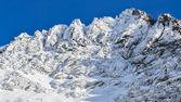 Skalista szczyt zima — Zdjęcie stockowe