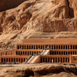Queen hatshepsut temple in ancient Egypt - Stock Photo