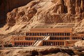 Queen hatshepsut temple in ancient Egypt — Stock Photo