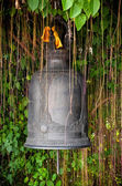 Detail of the bell at Golden mount (Wat Sutep), Bangkok — Stock Photo