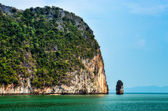 Landscape view of islands in Phang Nga bay, Thailand — Stock Photo