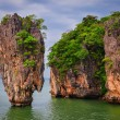 Stock Photo: James Bond island ocean view in Phang Nga bay, Andaman Sea