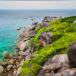 Similan island beautiful ocean coast view in Andaman Sea — Stock Photo