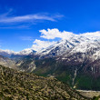 Himalayas mountains valley panorama — Stock Photo