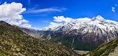 Panorama údolí pohoří himaláje — Stock fotografie