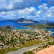 Landscape view of Lipari islands in Sicily, Italy — Stock Photo