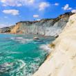 Beautiful ocean beach Scala dei Turchi in Sicily — Stock Photo