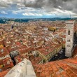Stock Photo: Panoramic view of Florence from Duomo cathedral cupola