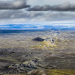 Scenic view of volcanic landscape in Iceland — Stock Photo