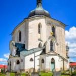 Church of St. John Nepomuk, Zelena Hora, Czech republic — Stock Photo #43670553