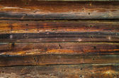 Detail of wooden textured wall — Stock Photo