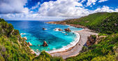 Beautiful ocean coastline in Costa Paradiso, Sardinia — Stock Photo