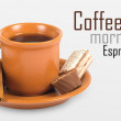 Cup of espresso - Stockfoto