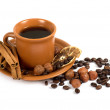 Royalty-Free Stock Photo: Coffee with ingredients