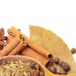 Royalty-Free Stock Photo: Spices border
