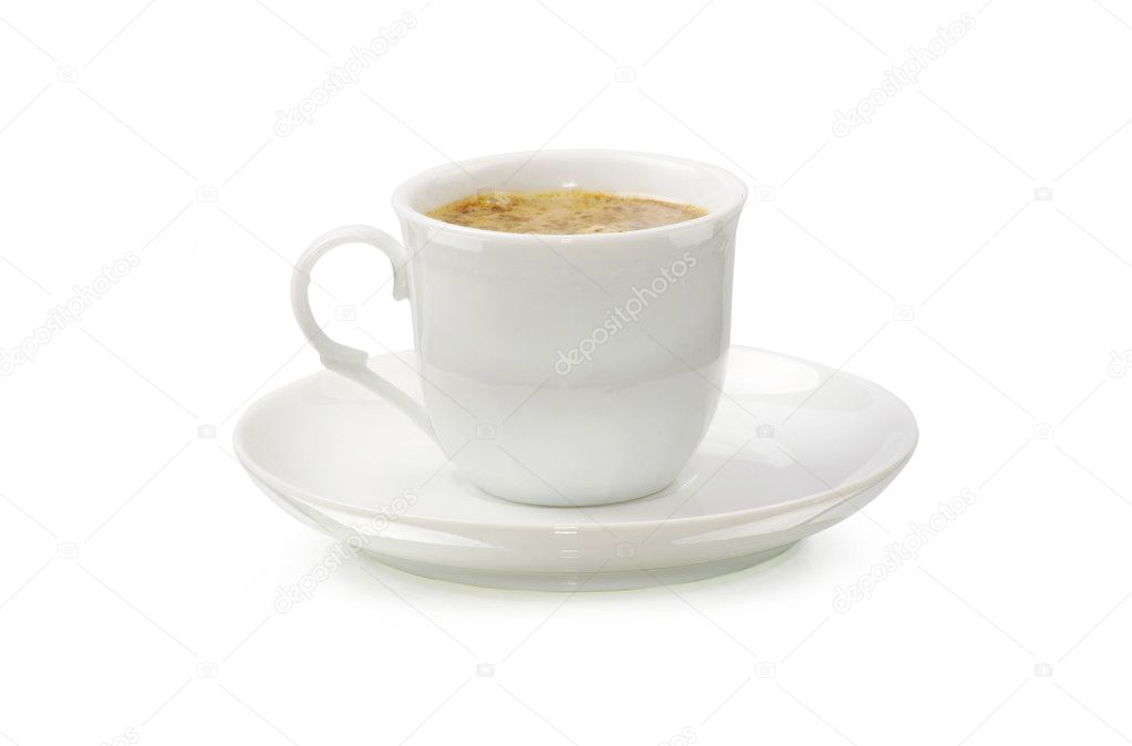 Coffee cup on white background — Stock Photo #13846498