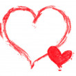 Painted Heart - Foto de Stock