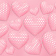 Royalty-Free Stock Photo: Decorative hearts