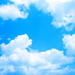 Blue sky background - Stockfoto