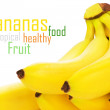 Bunch of bananas - Stockfoto