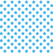 Background with blue stars - Foto de Stock