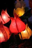 Modern handmade design light — Stock Photo