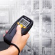 Barcode-scanner — Stockfoto