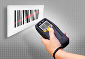 Barcode Scanner — Stockfoto
